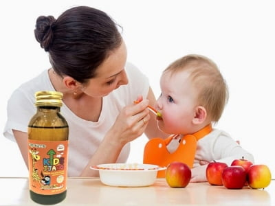 Siro dinh dưỡng KidsJjang đến từ Hàn Quốc