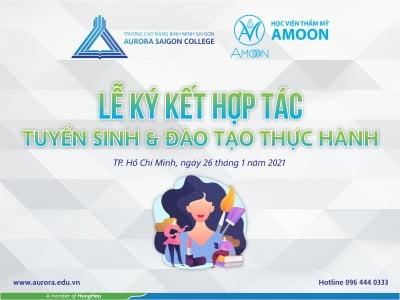 Trường Cao đẳng Bình Minh Sài Gòn ký kết tuyển sinh và đào tạo thực hành với các đối tác.
