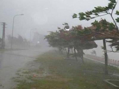 Tin bão khẩn cấp; cảnh báo mưa lớn, lũ quét, sạt lở đất