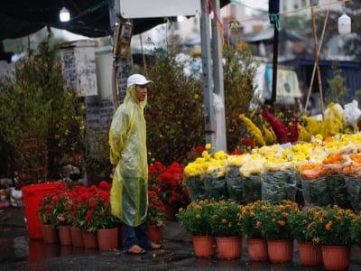 Sài Gòn mưa trái mùa
