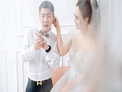 Đám cưới NSND Công Lý trước giờ G: Chú rể hồi hộp đợi đón nàng về dinh