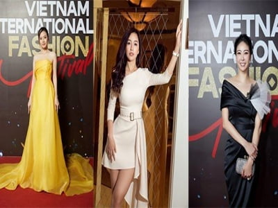 Sao đẹp cuối tuần: Hà Kiều Anh, Midu gợi cảm với đầm hở vai