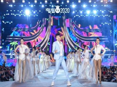 Toàn cảnh đêm thi người đẹp thời trang Hoa hậu Việt Nam 2020
