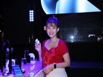Theo chân Misthy, DJ Mie trải nghiệm tai nghe FreeBuds Pro tại sự kiện ra mắt