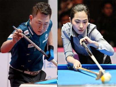 """""""Nữ thần bi-a"""" Hàn Quốc đẩy đội Mã Minh Cẩm thất thế ở giải đấu 2 tỷ đồng"""
