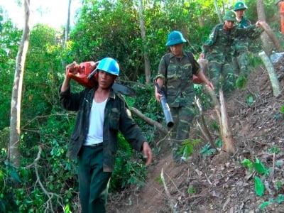 Nghĩa cử lay động triệu trái tim trong cháy rừng khủng khiếp ở Hà Tĩnh